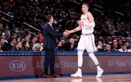 HLV Knicks đề nghị toàn đội Knicks bớt phụ thuộc vào Porzingis