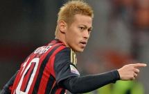 Keisuke Honda trong màu áo AC Milan