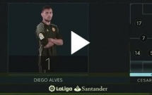 Valencia 2 - 3 Barcelona (vòng 9 La Liga)