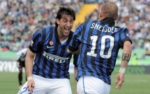 Wesley Sneijder & Diego Millito: Song sát một thời của Inter Milan
