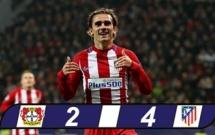 Cú sút quyết đoán của Antoine Griezmann vs Leverkusen