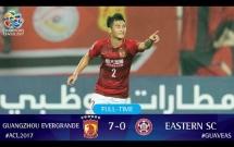 Guangzhou Evergrande FC vs Eastern SC (Vòng bảng AFC Champions League 2017)