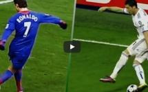 Chiêm ngưỡng kĩ thuật rabona của Cristiano Ronaldo