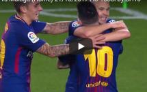 Màn trình diễn của Lionel Messi trước Malaga