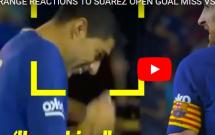 Pha bỏ lỡ không thể tin nổi của Luis Suarez