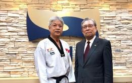 Chủ tịch VTF đạt 9 đẳng Viện Hàn lâm Taekwondo thế giới