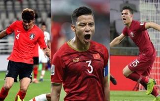 Thủ lĩnh hàng thủ ĐT Việt Nam lọt top 3 trung vệ xuất sắc Asian Cup