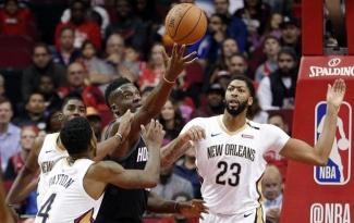 Kết quả NBA 18/10: Anthony Davis 'bắn hạ' Rockets, Bố già Popovich 'tiêu diệt Bầy sói'
