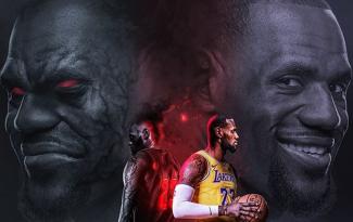 LeBron James tuyên bố sẽ bung hết sức để giúp Lakers dự playoffs