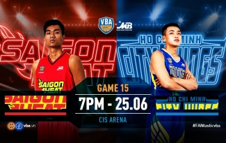 VBA 2019 Game 15: Saigon Heat vs Hochiminh City Wings - Derby cho ngôi đầu