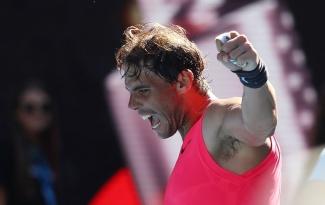 Thắng dễ Pablo Carreno Busta, Rafael Nadal gặp trai hư Nick Kyrgios ở vòng 4 Australian Open