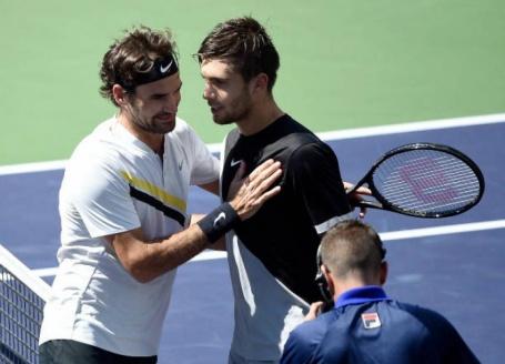 cd11138ddb Coric đau lòng vì thất bại trước Federer ở Indian Wells