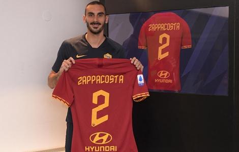 Sau 10 năm, Zappacosta mới tái hiện điều này tại AS Roma