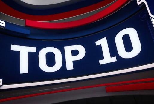Video top 10 pha bóng ấn tượng nhất NBA ngày 19/11