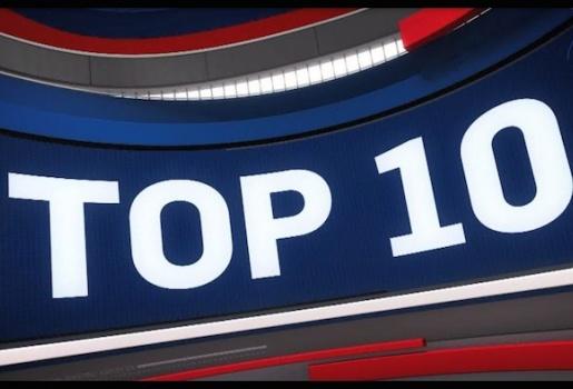 Video top 10 pha bóng ấn tượng nhất NBA ngày 02/12