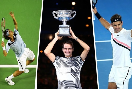 Video 21 pha ghi điểm đỉnh nhất của Federer ở Australian Open