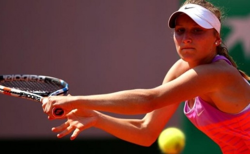 Marketa Vondrousova đã xuất sắc đánh bại Anett Kontaveit trong trận chung kết Biel Bienne Open. Ảnh: GettyImages.