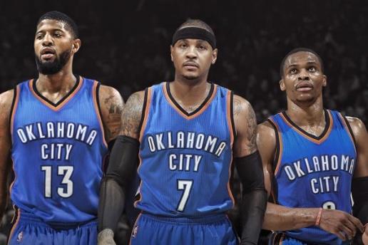 Bộ ba George - Anthony - Westbrook sẽ sát cánh cùng nhau mùa tới?