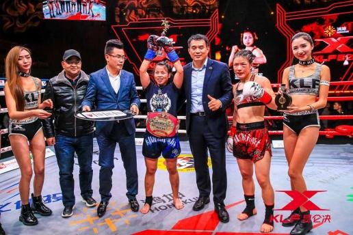 Thắng 3 trận, võ sĩ Trung Quốc trở thành 'huyền thoại Mộc Lan 2017'