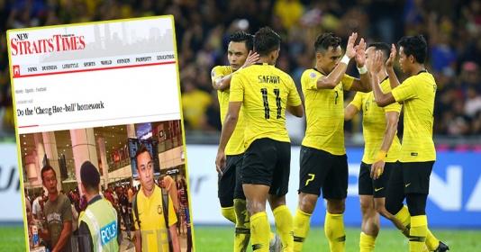 Báo Malay ví đội nhà như Barca, Chelsea chê ĐT Việt Nam chơi thực dụng