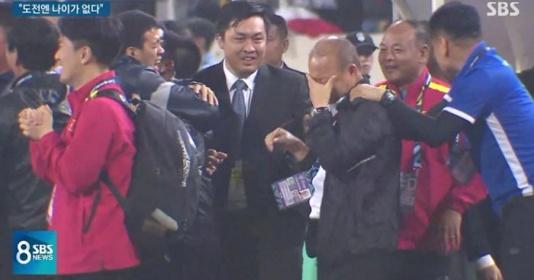 Thầy Park nói thật về những giọt nước mắt hạnh phúc ở Mỹ Đình