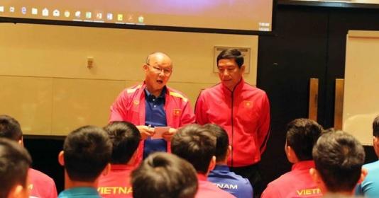HLV Park Hang-seo dặn dò học trò kiên quyết thực hiện 1 điều tại Asian Cup