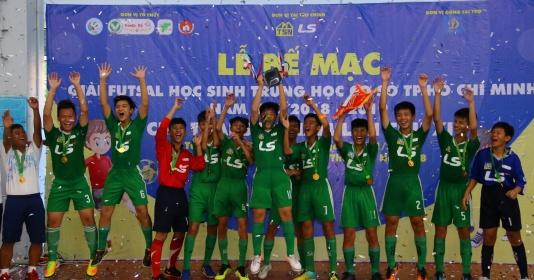 Năng khiếu Nguyễn Thị Định vô địch giải futsal THCS TPHCM