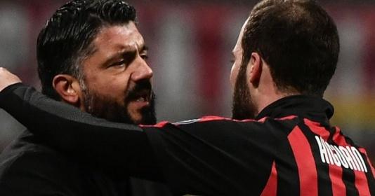 """Gattuso: """"Có thể Higuain đang diễn kịch"""""""