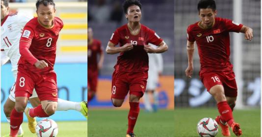 Top 5 chân chuyền của ĐT Việt Nam sau 3 trận vòng bảng Asian Cup 2019