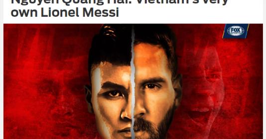"""Báo châu Á: Quang Hải xứng danh """"Messi Việt Nam"""""""