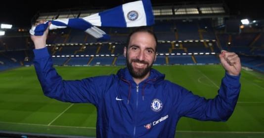 CHÍNH THỨC: Higuain đến Chelsea, mang áo số 9