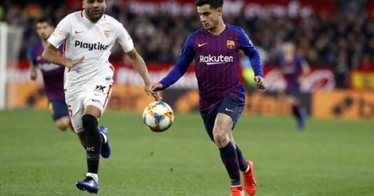 3 điểm nhấn Sevilla 0-2 Barcelona: Ám ảnh Messi, MU sống lại cơ hội với Coutinho