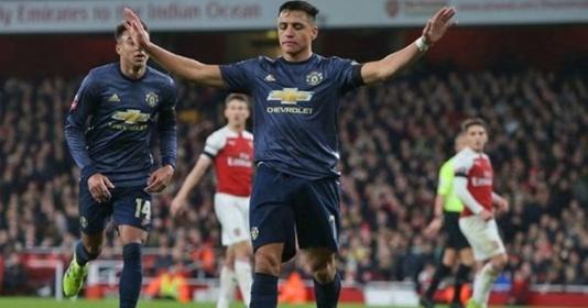 """Lukaku: """"Tôi và Sanchez có thể ghi thêm 2, 3 bàn vào lưới Arsenal"""""""