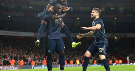 Lukaku trổ tài kiến tạo, Man United đại thắng trước Arsenal