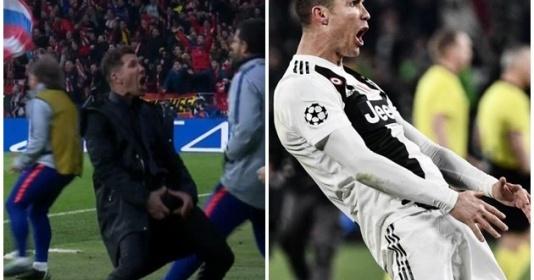 """Simeone nói gì sau khi bị Ronaldo """"hạ nhục"""""""