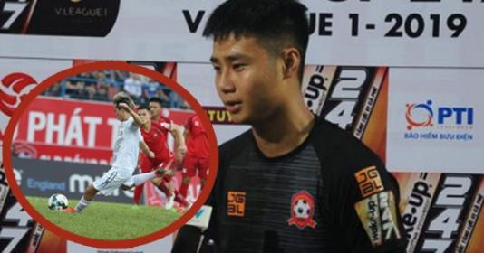 """""""Văn Lâm đệ nhị"""" tiết lộ bí quyết cản phá quả penalty của Văn Toàn"""