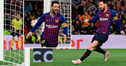 Messi chỉ xếp dưới 1 người về độ sát thủ ở Champions League