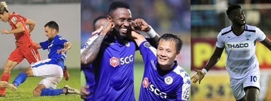 Vua phá lưới V-League 2019: Văn Toàn một mình đấu 9 chân sút ngoại