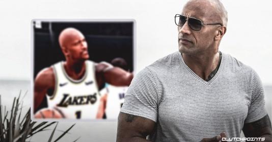 Quên ngay Durant, Thompson hay Davis đi! The Rock sẽ sát cánh cùng The King ở mùa tới