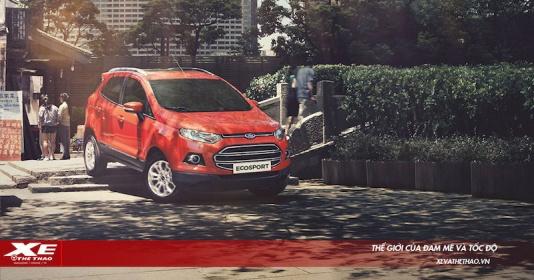 Ford EcoSport giảm giá lên tới 40 triệu đồng tại thị trường Việt Nam