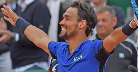 Thắng dễ Dusan Lajovic, Fabio Fognini lần đầu vô địch Monte Carlo