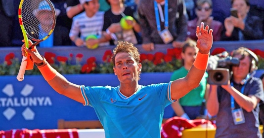Thắng dễ đồng hương, Rafael Nadal vào tứ kết Barcelona Open