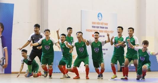 Đại học Tôn Đức Thắng đăng quang tại VUG Futsal 2019