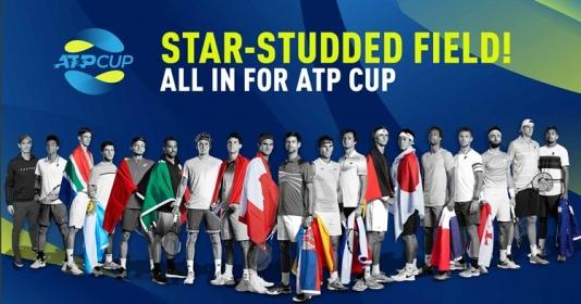 Federer đối đầu Murray ở ATP Cup 2020
