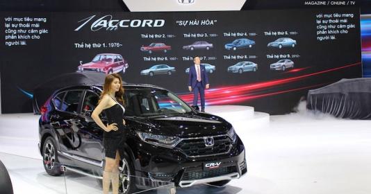 CR-V tiếp tục dẫn đầu doanh số bán hàng Honda trong tháng 10.2019