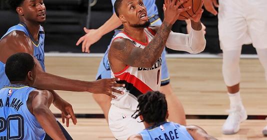 Lịch thi đấu NBA 15/8: Playoffs chờ Blazers, Grizzlies vượt khó
