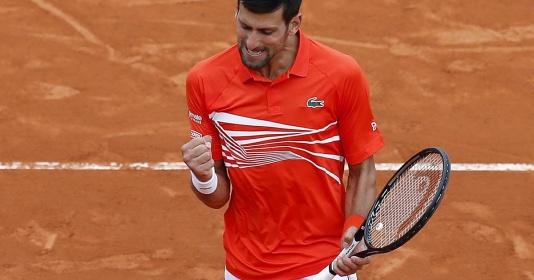 Thắng 6-0 ở set 2, Novak Djokovic nhẹ nhàng vào tứ kết Monte Carlo