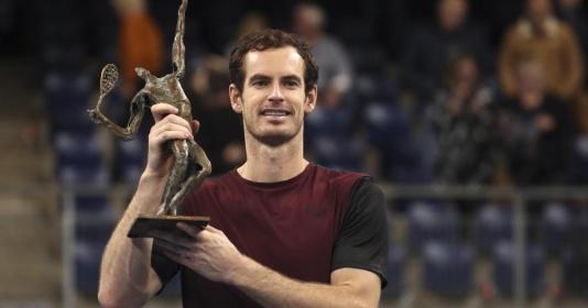 Ngược dòng trước Wawrinka, Murray có lần đầu ở mùa giải 2019