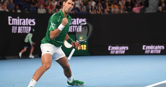 Novak Djokovic nhận 1 set thua ngày ra quân tại Australian Open 2020 - xổ số ngày 13102019