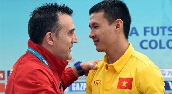 Thay HLV Bruno, Bảo Quân tự tin đưa futsal Việt Nam dự World Cup